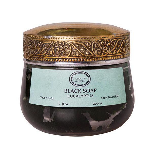 Precious Black Soap Eucalyptus